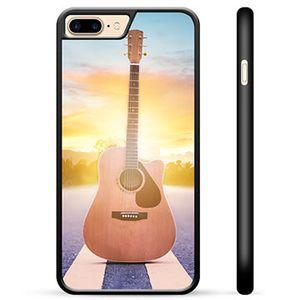 iPhone 7 Plus / iPhone 8 Plus Beschermende Cover - Gitaar