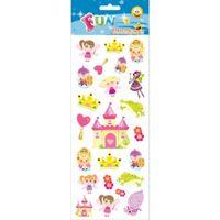 Poezie album stickers prinsessen en feeen