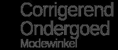 Corrigerendondergoedmodewinkel.nl logo